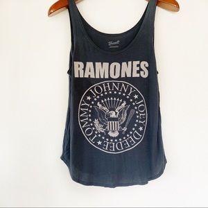 Bravado Ramones graphic tank top